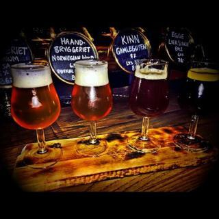 Referat fra Lʹordre Mondial ølsmaking Håndverkerstuene torsdag 12. mai