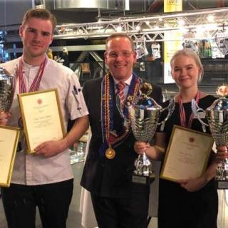 Oslo og Akershus Cup for lærlinger på Mathallen i Oslo