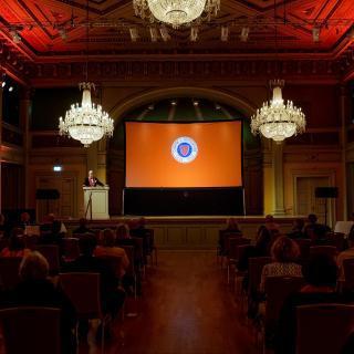 Referat fra intronisasjon og Grand Dîner lørdag 24. oktober 2020