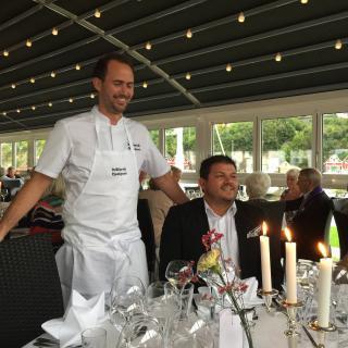 Referat fra Diner Amical på Bekkjarvik 8. september 2017