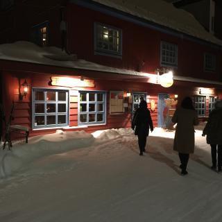 Referat fra Bailliage de Bergens Diner Amical på Hallingstuene