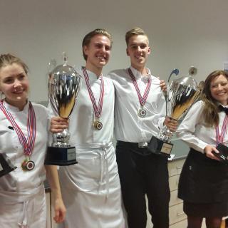 Finale i lærlingekonkurransen for kokker og servitører i Oslo