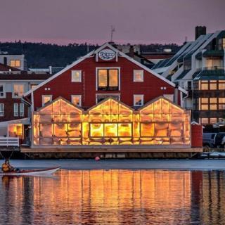 Referat fra torskemiddag på Restaurant Sjøhuset i Kristiansand