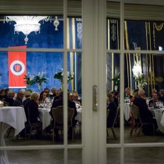 Referat fra Grand Dîner i Rococo på Grand Hotel 21, oktober