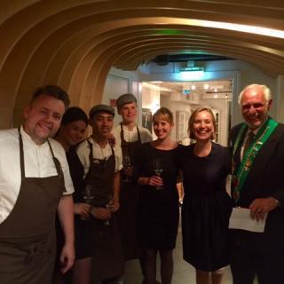 Referat fra Bailliage de Rogalands Dinér Amical på Renaa
